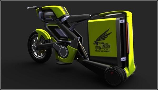 Мотоцикл для города Transport Hornet