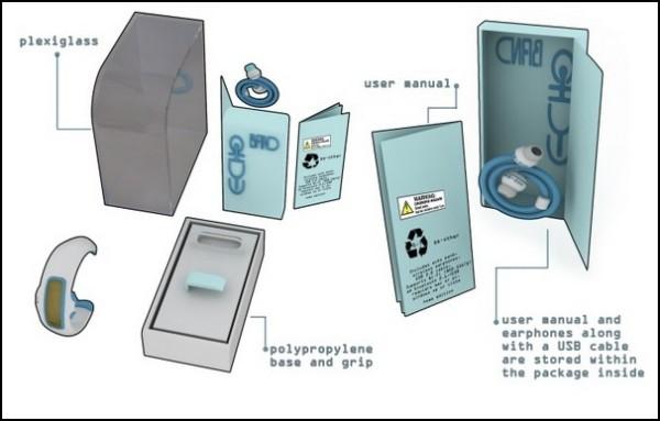 Часы-плеер для молодежи Echo: комплектация