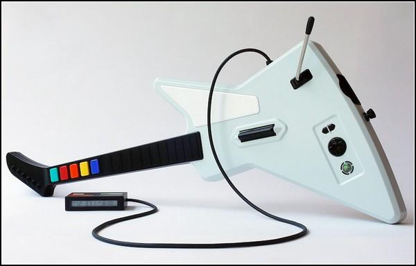 Консольный режим для вашего будильника. Джойстик для Guitar Hero