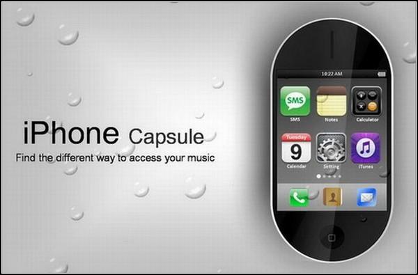 iPhone будущего для минималистов