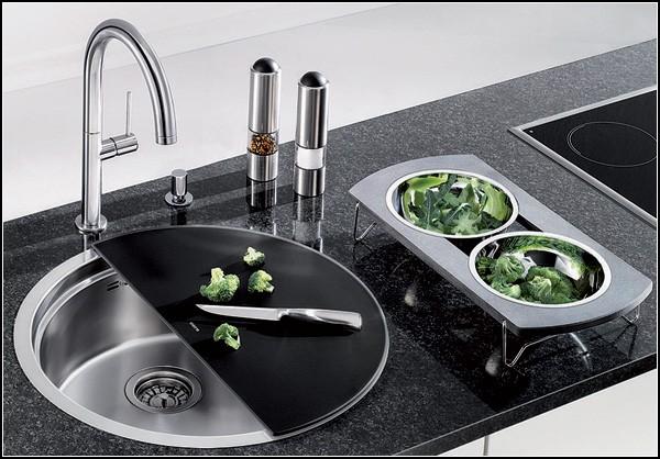 Эргономичная кухонная раковина BLANCORONIS