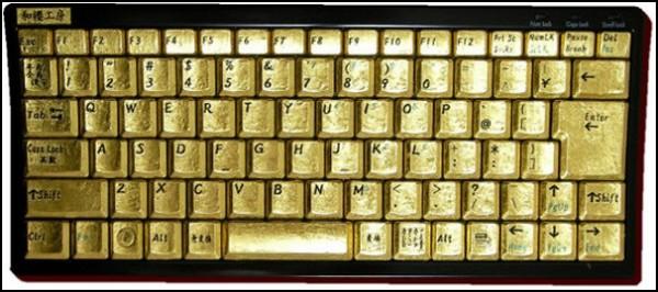 Чистое золото гаджетов: дешевенькая клавиатура