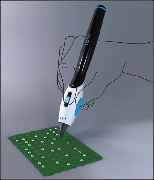 Электрический паяльник-концепт Lepen
