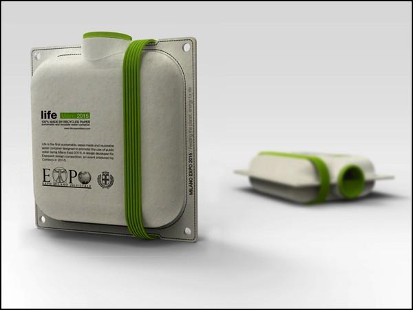 Пакеты из бумаги с водой: экологичная упаковка будущего