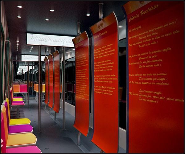 Красивое метро - яркое метро. Дизайнерский проект Metronomie
