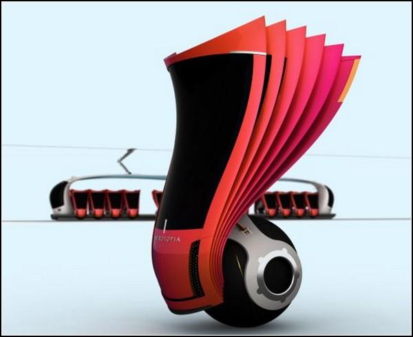 Десятка такси будущего: Metrotopia