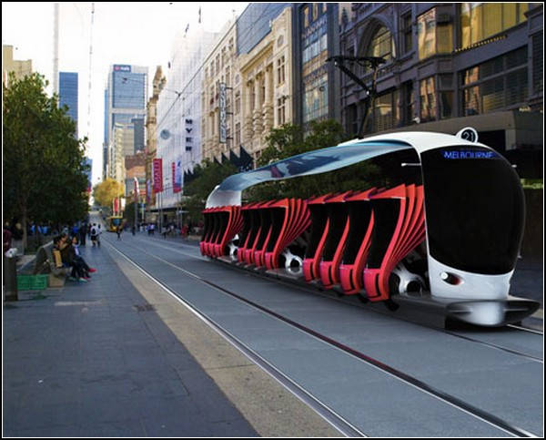 Такси-трамвай Metrotopia