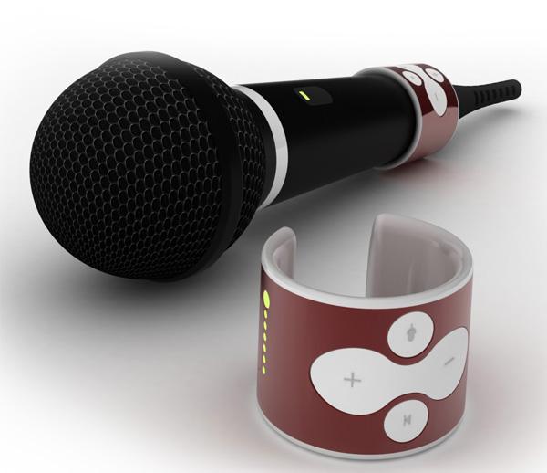 Простой и удобный микрофон для караоке