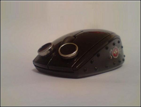 Мыши для компьютера в стиле стимпанк: бойлер