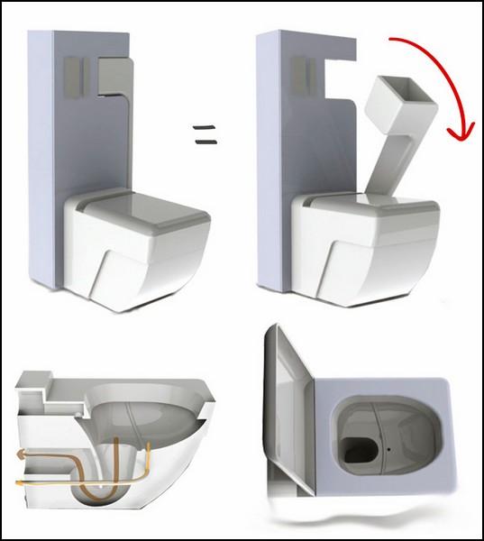 Проект туалета без гендерных различий