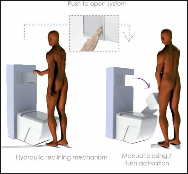 Проект туалета, который сэкономит воду