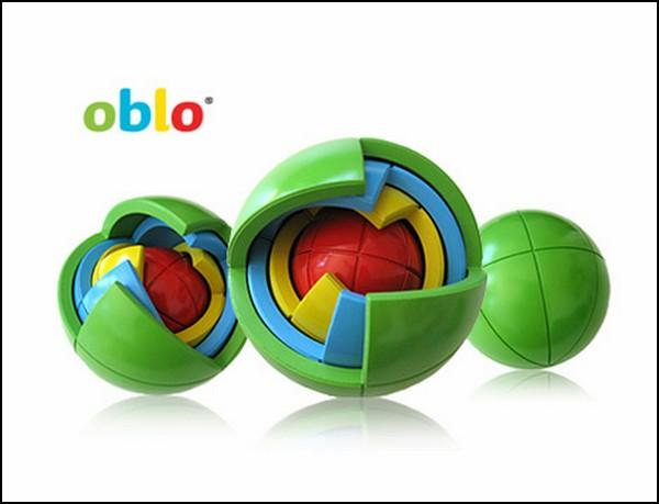 В мире пазлов: многослойный шарик OBLO