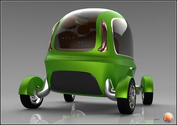 Такси без водителя в Лодоне. Проект OPTI