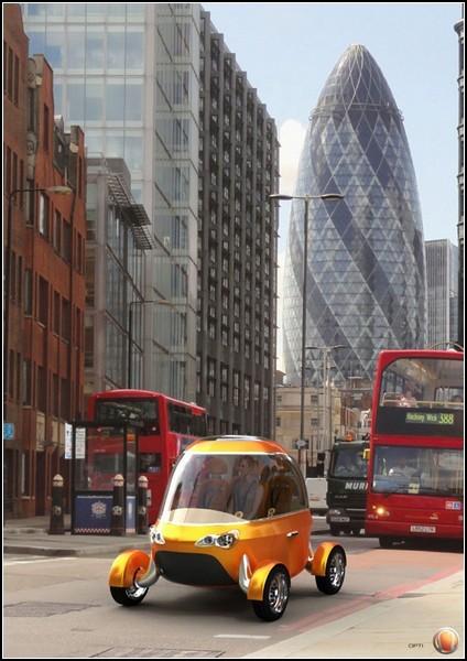 Такси будущего без таксиста