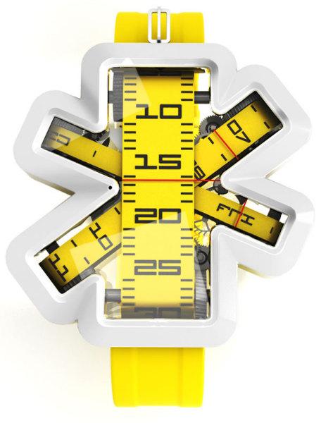 Оригинальные часы-рулетка Ora Measuring Tape Watch