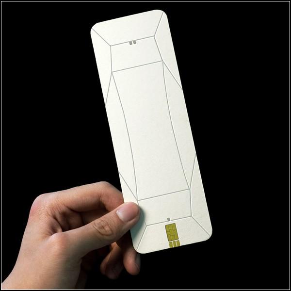 Плоский телефон-раскладушка Origami Phone