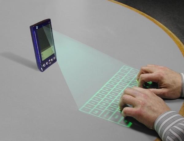 Виртуальные лазерные клавиатуры: VKEY