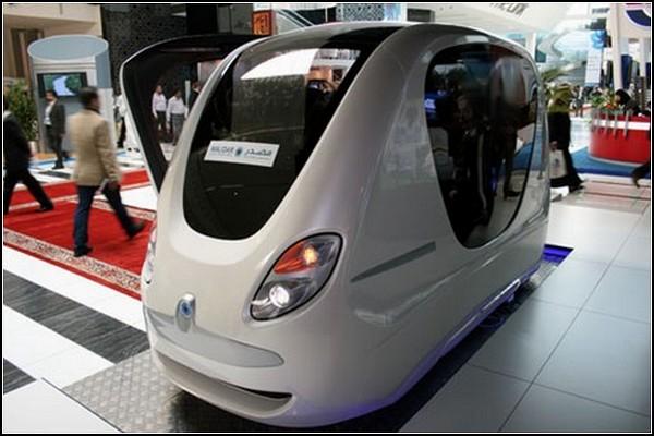 Десятка такси будущего: умный транспорт для Масдар-Сити