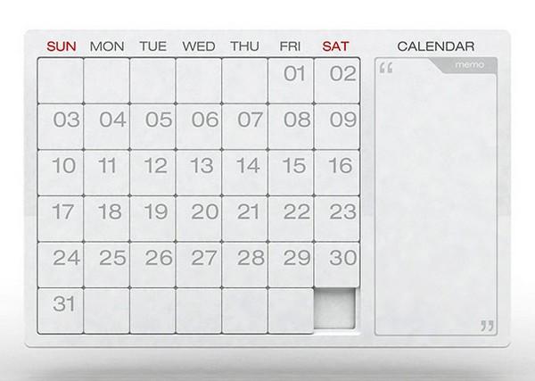 Необычные календари: пазл на каждый месяц