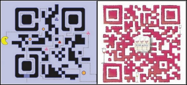 Штрихкоды-логотипы: Пэкменовские мотивы и еще один винный код от Paperlinks