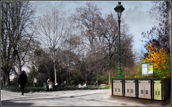 Компост из мусорного бака для зеленых городов