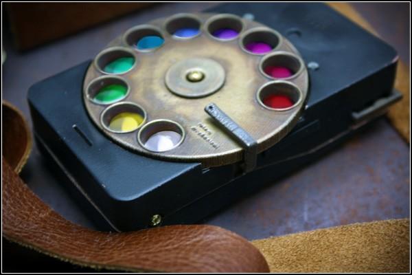 Стильный смартфон с медным диском Rotary Mechanical