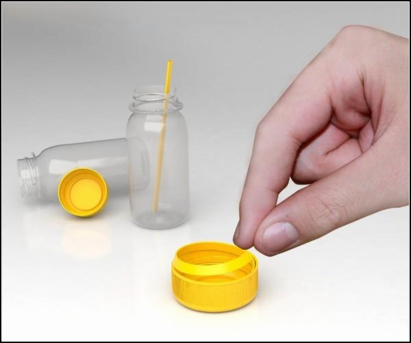 Гениально и просто. Самая утилитарная пластиковая крышка