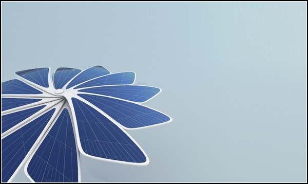 Зонтик от солнца и электростанция