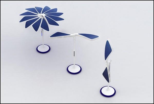 Складной зонтик от солнца SOLARIS
