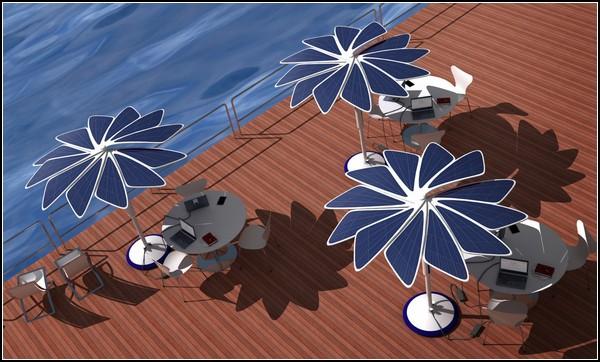 Зонтик от солнца SOLARIS