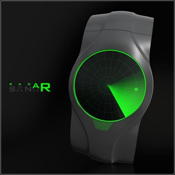 Ручной сканер-часы для охотников за минутами