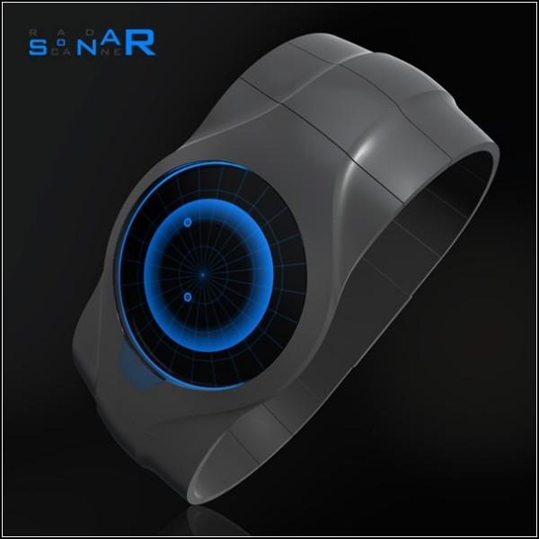 Ручной сканер-часы Sonar Watch