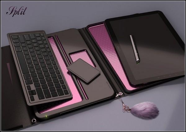 Части ноутбука, которые работают отдельно от корпуса