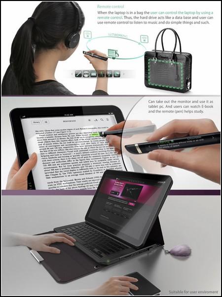 Split: части ноутбука работают отдельно от корпуса