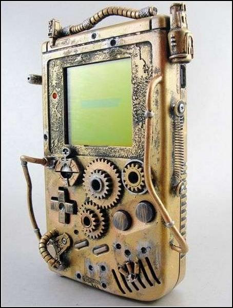 Необычные игрушки в стиле стимпанк: Game Boy