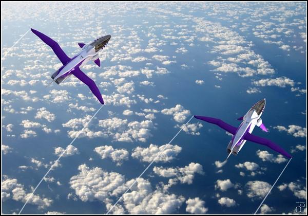 Сверхзвуковой самолет AvA