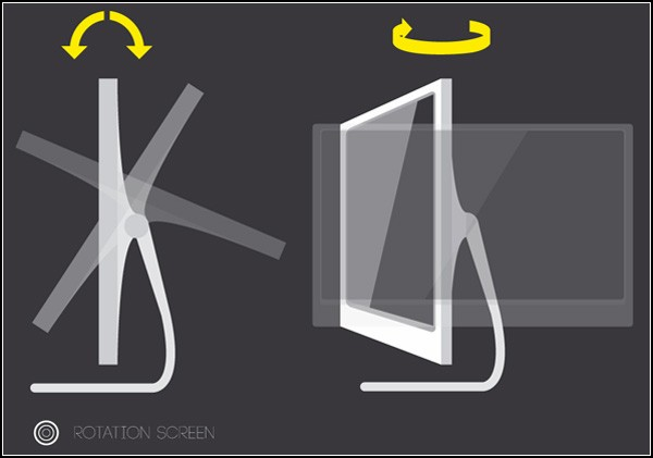 Зеленый монитор-подсолнух: концепт Марко Вуковича