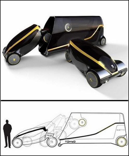 Десятка такси будущего: транспорт для гигаполисов