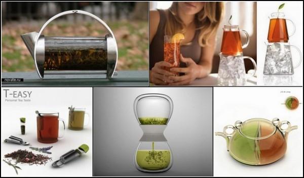 Заварные чайники: обзор дизайнерского креатива и инноваций