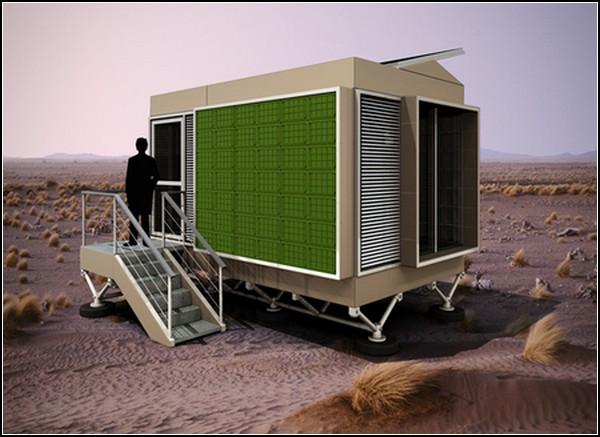 Временное жилье для беженцев: проект Prototype ME-01