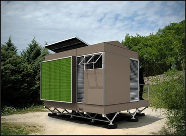 Временное жилье для беженцев: самодостаточный фургончик