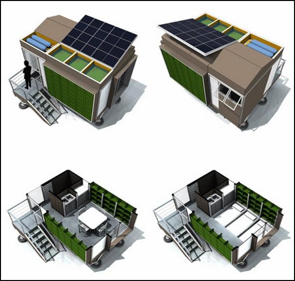 Временное жилье для беженцев: Prototype ME-01