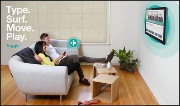 Пульт от телевизора Toggle: шаг в будущее?