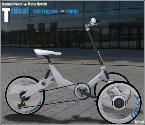 ТОП-10 велосипедов будущего: велолистник