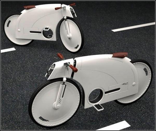 ТОП-10 велосипедов будущего: закрытосипед