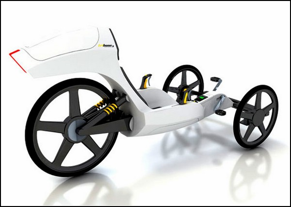 ТОП-10 велосипедов будущего: лежетрайк