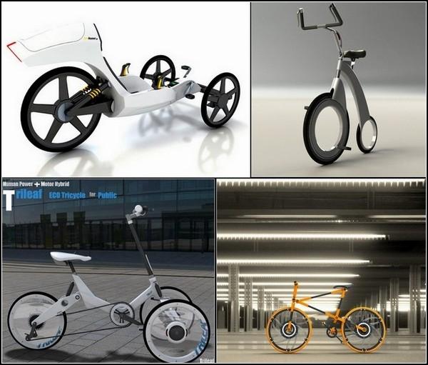 ТОП-10 велосипедов будущего: футуристический обзор