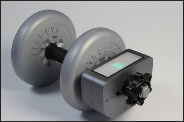 Гаджет для упражнений с гантелями в домашних условиях