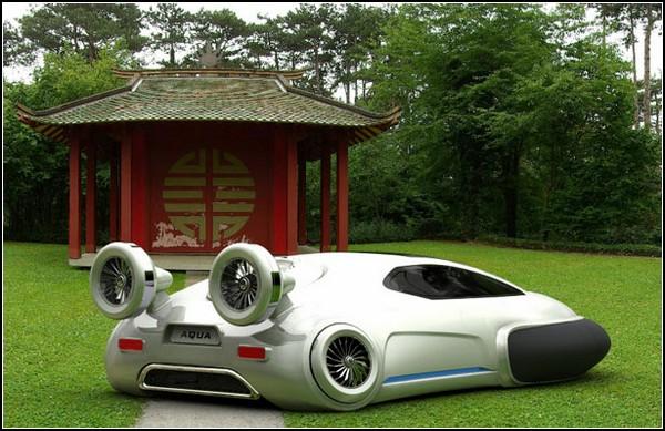 Катер на воздушной подушке + автомобиль = Volkswagen будущего