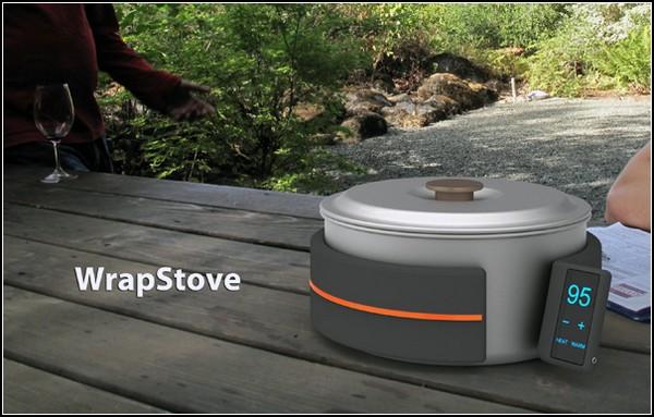 Чудо-печка для путешественников Wrapstove